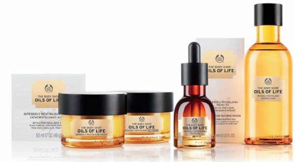The Body Shop - gamme Oils of Life