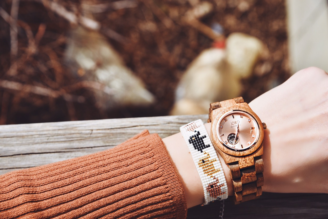 Go beyond the usual with Jord Wood Watches